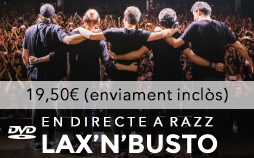 DVD En directe Razz 2016
